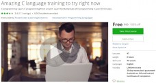 Udemy Coupon – Amazing C language training to try right now