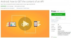 Udemy Coupon – Android: how to GET the content of an API