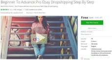Udemy Coupon – Beginner To Advance Pro Ebay Dropshipping Step By Step