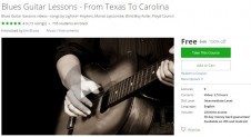 Udemy Coupon – Blues Guitar Lessons – From Texas To Carolina