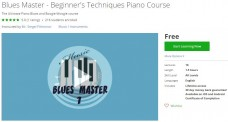 Udemy Coupon – Blues Master – Beginner's Techniques Piano Course