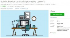 Udemy Coupon – Build A Freelancer Marketplace (like Upwork)