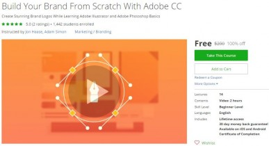 Udemy Coupon – Build Your Brand From Scratch With Adobe CC