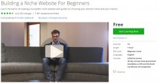 Udemy Coupon – Building a Niche Website For Beginners