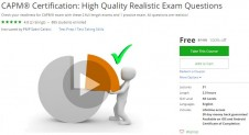 Udemy Coupon – CAPM® Certification: High Quality Realistic Exam Questions