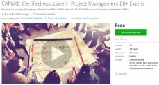 Udemy Coupon – CAPM®: Certified Associate in Project Management 80+ Exams