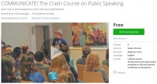 Udemy Coupon – COMMUNICATE! The Crash Course on Public Speaking