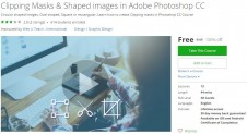 Udemy Coupon – Clipping Masks & Shaped images in Adobe Photoshop CC