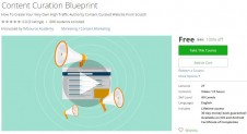 Udemy Coupon – Content Curation Blueprint