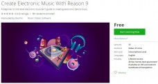 Udemy Coupon – Create Electronic Music With Reason 9