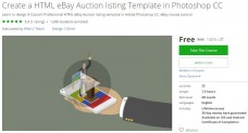 Udemy Coupon – Create a HTML eBay Auction listing Template in Photoshop CC