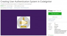 Udemy Coupon – Creating User Authentication System in CodeIgniter