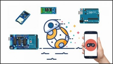 Udemy Coupon – DIY Bluetooth Phone Controlled BB-8 Droid with Arduino