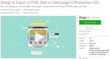 Udemy Coupon – Design & Export a HTML Web or Sales page in Photoshop CS5