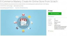 Udemy Coupon – E-Commerce Mastery: Create An Online Store From Scratch