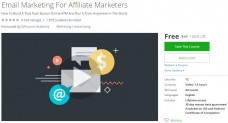 Udemy Coupon – Email Marketing For Affiliate Marketers