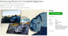 Udemy Coupon – Enhancing Photos for Complete Beginners