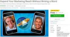 Udemy Coupon – Expand Your Marketing Reach Without Writing a Word