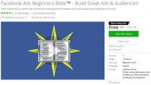 Udemy Coupon – Facebook Ads Beginners Bible™ – Build Great Ads & Audiences!