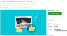 Udemy Coupon – Facebook Ads For Affiliate Marketers