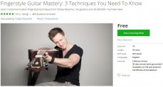 Udemy Coupon – Fingerstyle Guitar Mastery: 3 Techniques You Need To Know