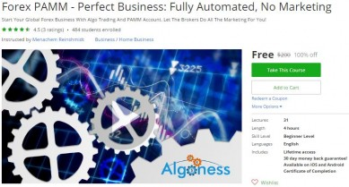 Udemy Coupon – Forex PAMM – Perfect Business: Fully Automated, No Marketing