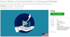 Udemy Coupon – Forex: What's a Trend and When it is Strong and Reliable