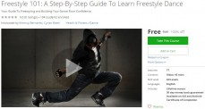 Udemy Coupon – Freestyle 101: A Step-By-Step Guide To Learn Freestyle Dance
