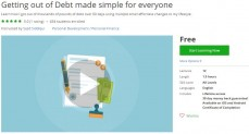 Udemy Coupon – Getting out of Debt made simple for everyone