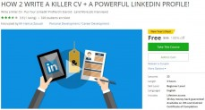 Udemy Coupon – HOW 2 WRITE A KILLER CV + A POWERFUL LINKEDIN PROFILE!