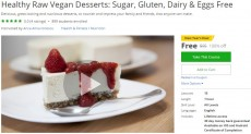 Udemy Coupon – Healthy Raw Vegan Desserts: Sugar, Gluten, Dairy & Eggs Free