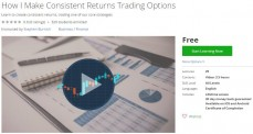 Udemy Coupon – How I Make Consistent Returns Trading Options