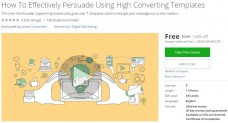 Udemy Coupon – How To Effectively Persuade Using High Converting Templates
