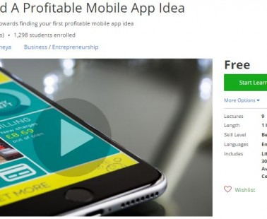 Udemy Coupon – How To Find A Profitable Mobile App Idea