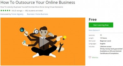 Udemy Coupon – How To Outsource Your Online Business