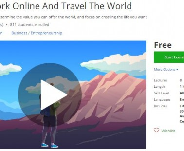 Udemy Coupon – How To Work Online And Travel The World