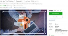 Udemy Coupon – How To Write 1 Book In Under 6 Hours