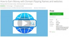 Udemy Coupon – How to Earn Money with Domain Flipping Names and websites