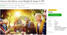 Udemy Coupon – How to Eat More, Lose Weight & Keep It Off!