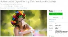 Udemy Coupon – How to create Digital Painting Effect in Adobe Photoshop