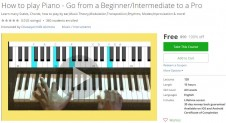 Udemy Coupon – How to play Piano – Go from a Beginner/Intermediate to a Pro