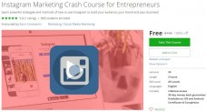 Udemy Coupon – Instagram Marketing Crash Course for Entrepreneurs