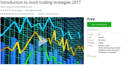 Udemy Coupon – Introduction to stock trading strategies 2017