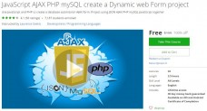 Udemy Coupon – JavaScript AJAX PHP mySQL create a Dynamic web Form project