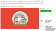 Udemy Coupon – JavaScript: Learn JavaScript Essentials And Build Project