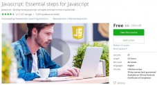 Udemy Coupon – Javascript: Essential steps for Javascript