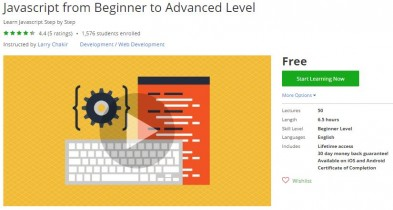 Udemy Coupon – Javascript from Beginner to Advanced Level
