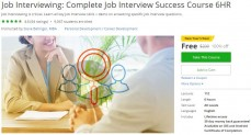 Udemy Coupon – Job Interviewing: Complete Job Interview Success Course 6HR