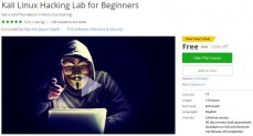 Udemy Coupon – Kali Linux Hacking Lab for Beginners
