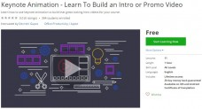 Udemy Coupon – Keynote Animation – Learn To Build an Intro or Promo Video
